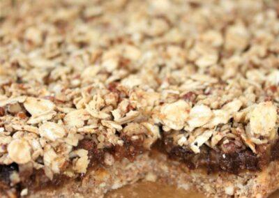 Layered Orchard Nut Slice