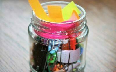 My self-care jar